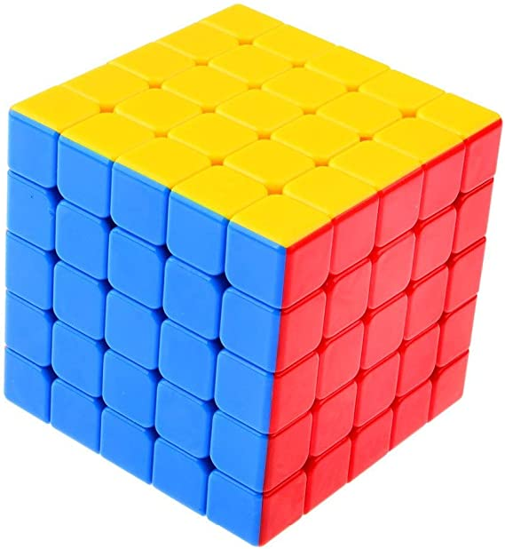 Stager 5X5X5 High Speed Rubik Stickerless Magic Puzzle Cube