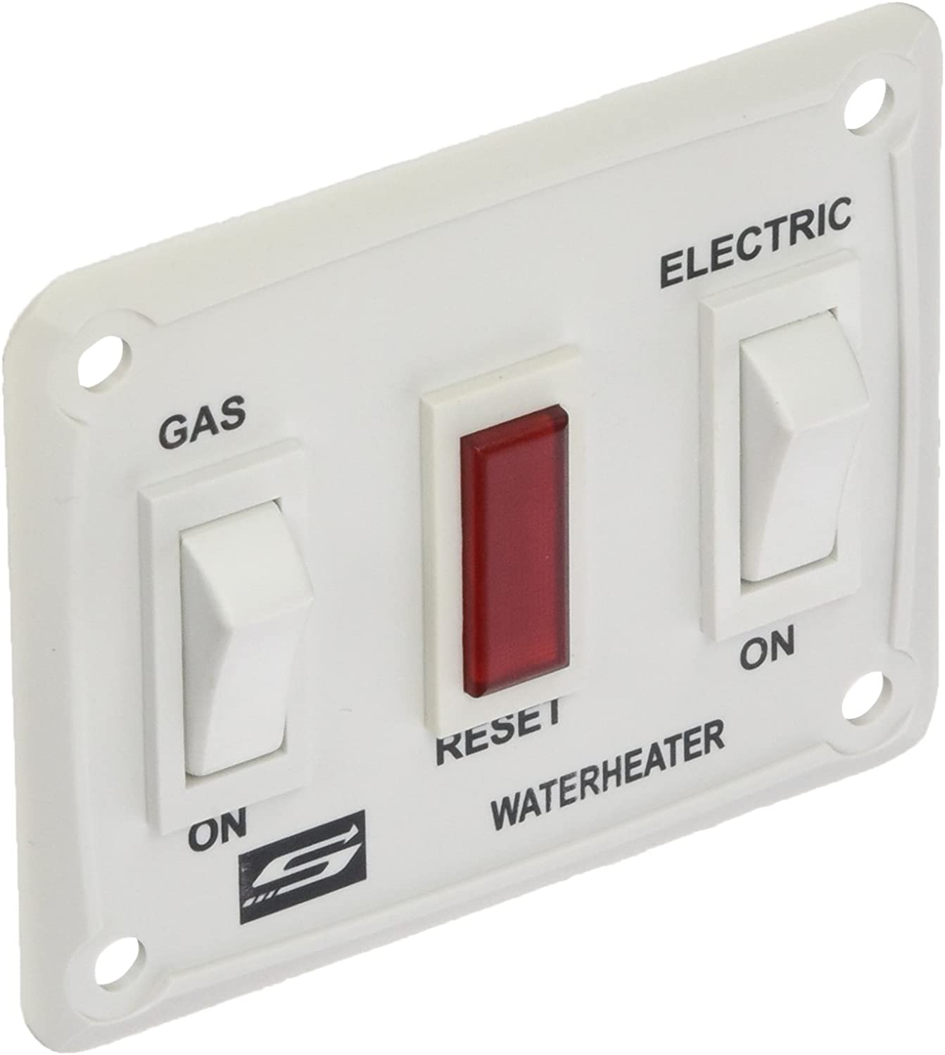 Suburban SB232882 232882 Water Heater Wall Switch Assembly-White