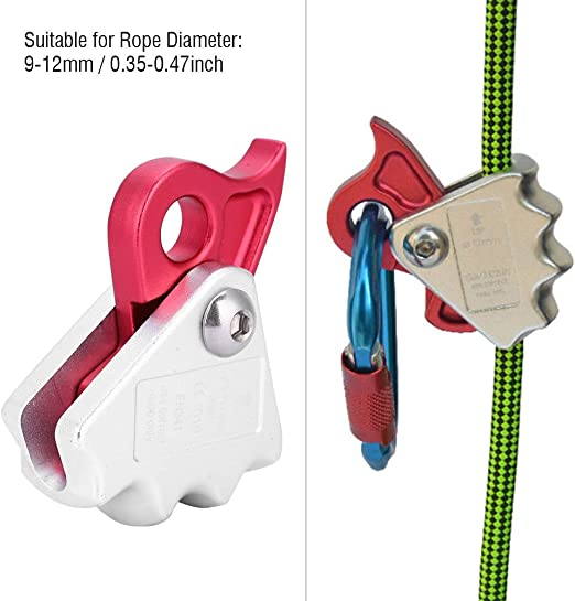 25kN Descender Belay Device Rock Climbing Rappelling Rescue Equipment For 8-12mm