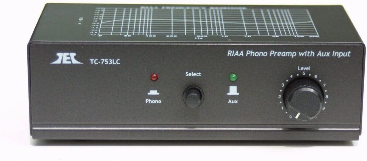 Pre-Amplifier for Turntables RCA Phono Left and Right Input and Output 008505
