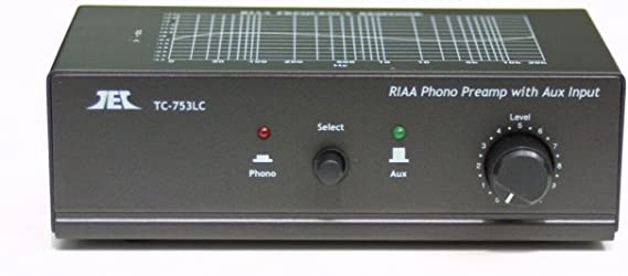Turntable / Phono Preamp Preamplifier Pre Amplifier W Aux Input and Volume Control