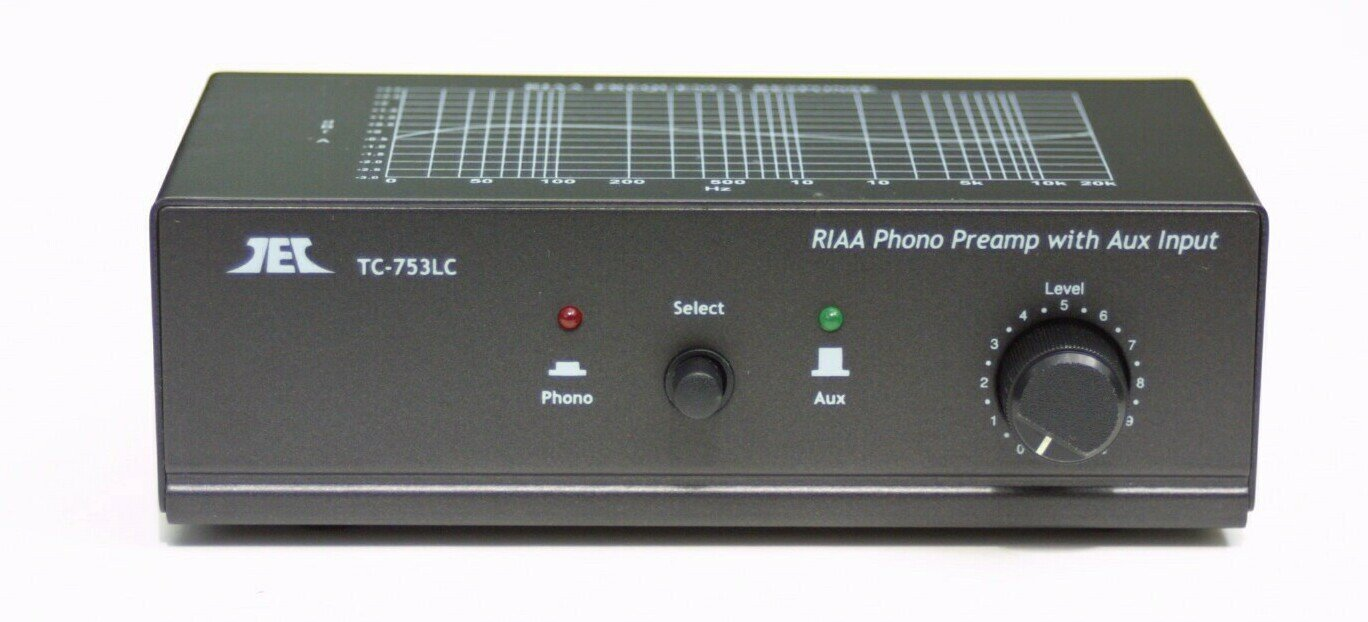 Turntable / Phono Preamp Preamplifier Pre Amplifier W Aux Input and Volume Control by TEC
