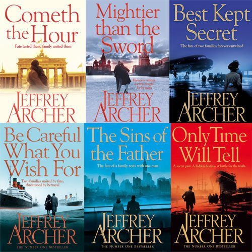 Book cover from Clifton Chronicles Series Jeffrey Archer Collection 6 Books Bundle (Cometh the Hour, Mightier than the Sword, The Sins of the Father, Only Time Will Tell.. by Jeffrey Archer
