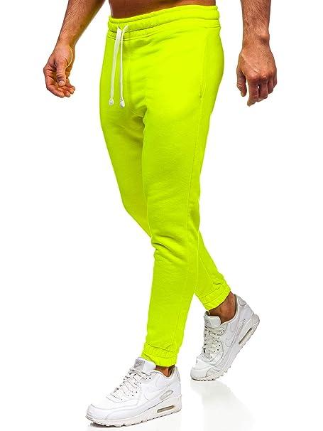 BOLF Hombre Pantalón De Chándal Pantalones de Algodón Estilo ...