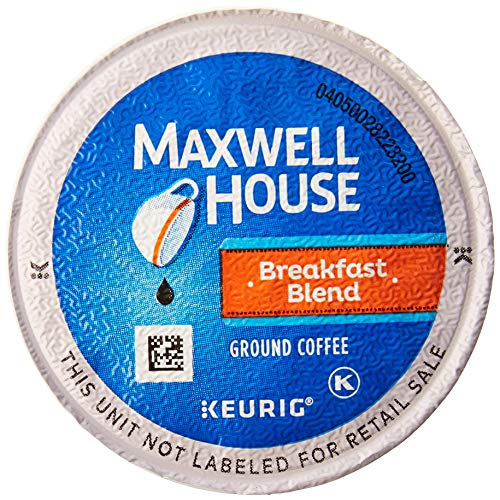 (Maxwell House Breakfast Blend Coffee, K-CUP Pods, 84 Count)