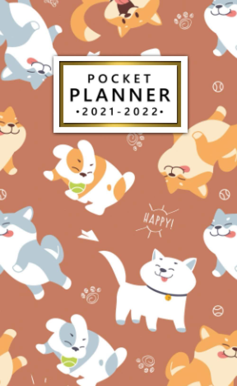 Pocket Planner 2021 2022: Two Year 24 Month Calendar Organizer