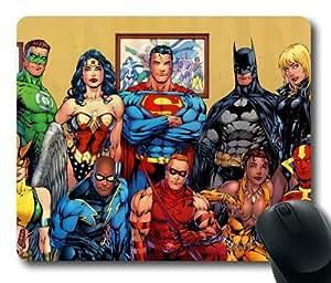 Customizablestyle DC Comics Superheroes Mousepad, Customized Rectangle DIY Mouse Pad