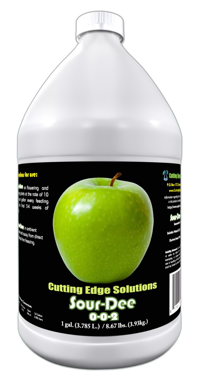 Cutting Edge Solutions Sour-Dee:3302 Sour-Dee Growing Additive, 1-Gallon