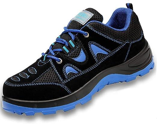 Zapatos de seguridad Botas de seguridad de verano para hombres ...