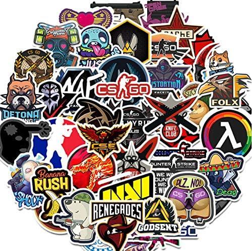 50PCS Sticker Graffiti Stickers para DIY Sticker en Estuche de Viaje Laptop Skateboard Guitarra Nevera calcomanía de teléfono: Amazon.es: Coche y moto