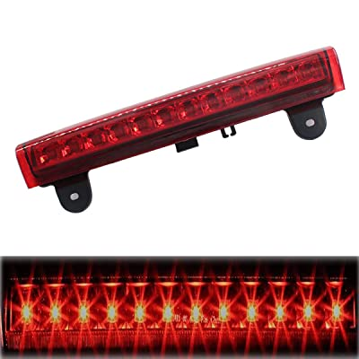 XtremeAmazing High Mount LED Rear 3RD LED Stop Brake Light Red: Automotive