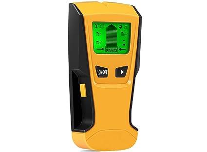 Detector de Pared Detector de Metal, Madera, Cables conductores y cobre - buscador de pernos Escáner de ...