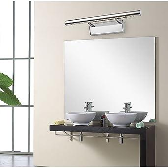 finoki Lampe Badezimmer – Licht Edelstahl Spiegel LED Badezimmer ...
