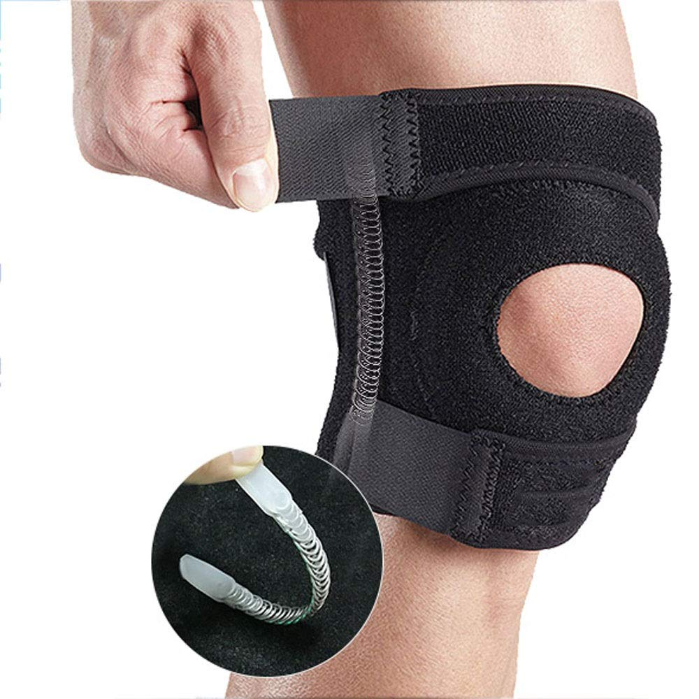 ZCF Basketball Badminton Running Sports Soccer Knee Injuries Men and Women Warm with Meniscus Knee Protectors (Color : I)