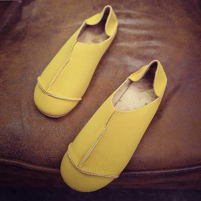 Btruely Zapatos de Mujer ❤ Mocasines de Cuero Piel Mujer Moda Planos Zapatos del Barco Los Cómodos Zapatos de Conducción Casual/Suela: Amazon.es: ...
