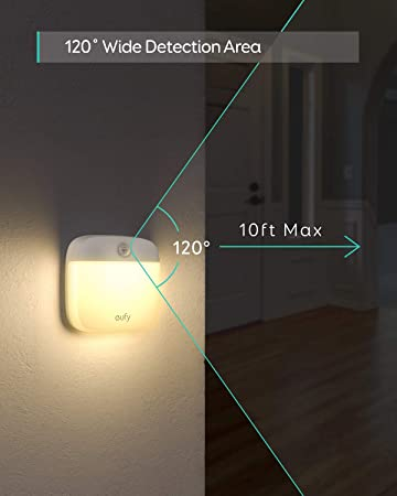 Amazon.com: eufy Lumi luz nocturna pegajosa, luz blanca ...