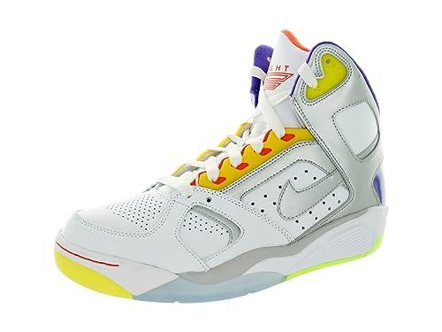 size 40 cd123 70856 Nike Air Flight Lite Zapatillas de Baloncesto para Hombre, Blanco  (WhiteMetallic Silver