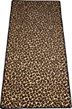 Dean Leopard Animal Print 30'' x 6' Carpet Runner Rug
