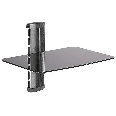 Amazoncom 1 Sh Under Tv Wall Mount Shelf For Dsl Modem Home Audio