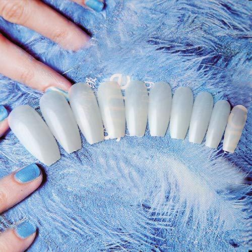 600 unidades/bolso largo Ballerina Cubierta completa uñas ...
