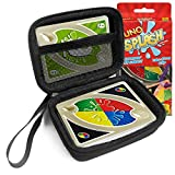 FitSand Hard Case for Mattel Games UNO Splash Card Game