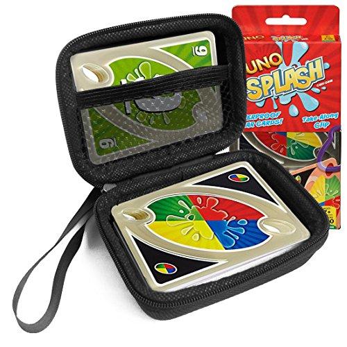 FitSand Hard Case for Mattel Games UNO Splash Card Game