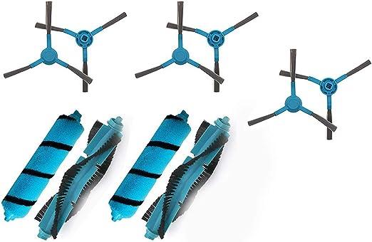Naliovker Kit de Cepillo Lateral del Cepillo Principal para Cecotec Conga 3490 4090 5090 Mijia STYJ02YM Aspiradora Robot Aspirador: Amazon.es: Hogar