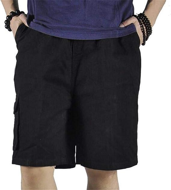 Refulgenc Men Multi-Pocket Tooling Trousers Summer Fashion Mid-Rise Longs Loose Cargo Pants Tooling Sweatpants