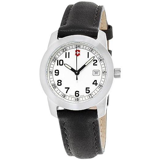 Victorinox Swiss Army Reloj de Mujer Cuarzo 30mm Correa de Cuero 26003.CB: Amazon.es: Relojes