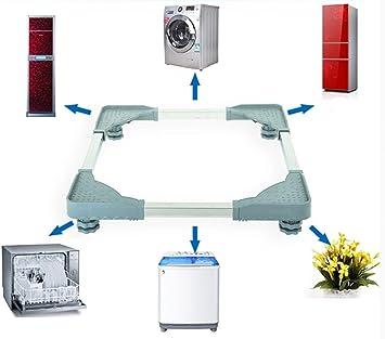 Zócalo para lavadora, nevera; base ajustable con 4 pies regulables ...