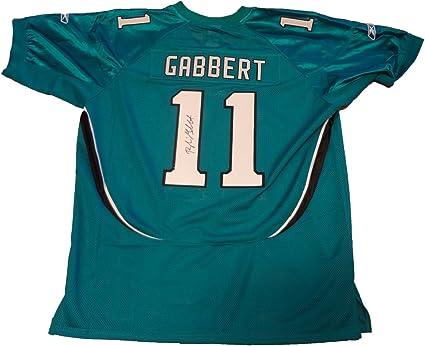 Blaine Gabbert Signed Jacksonville Jaguars Green Jersey W/PROOF ...