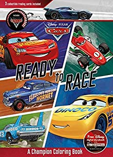 Disney Pixar Cars Ready To Race A Champion Coloring Book