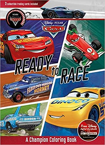 Disney Pixar Cars Ready To Race A Champion Coloring Book Parragon 9781474877404 Amazon Books