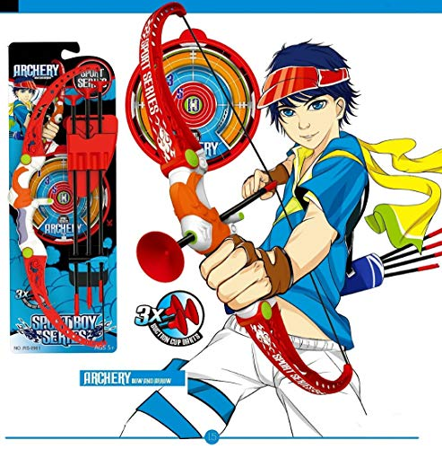 AdiChai Archery Set for Kids- Bow and Arrows with a Quiver – Completely Safe for Kids