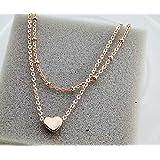 Malloom® Elegant Double Chain Heart Bead Anklet Ankle Bracelet Beach Foot Jewelry