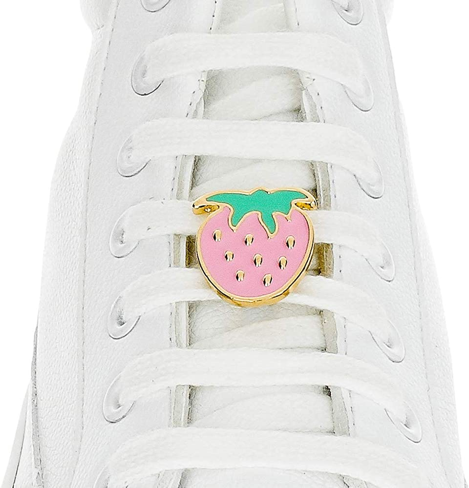 Vaciar la basura Sur calculadora  Shoelace Customization - Strawberry Shoelace Charm - trainer tag for Nike,  Adidas, Converse, Puma, Vans sneakers - Inspirational Gift - Fashion  Accessory Gift - shoelace charms for runners: Amazon.ca: Clothing &  Accessories