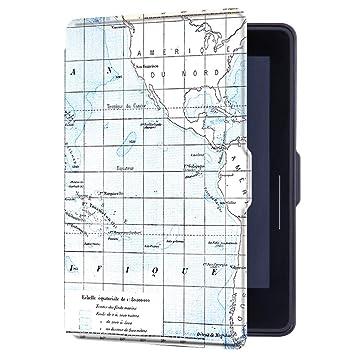 Huasiru Pintura Caso Funda para Amazon Kindle Voyage (6 Pulgadas ...