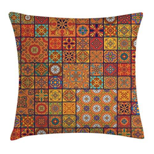 Patchwork Decorative Throw Pillow - 8