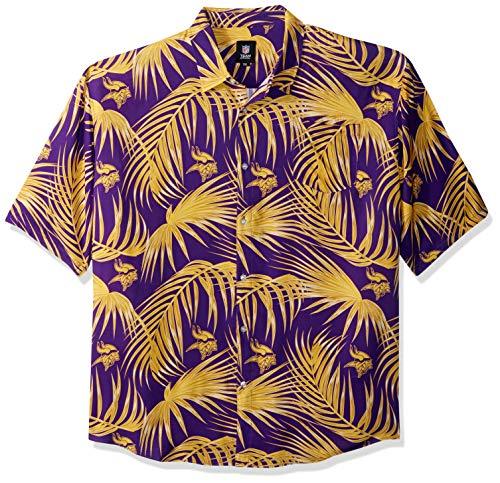 (NFL Mens Floral Shirt: Minnesota Vikings, x Large)