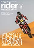 rider (ライダー) Vol.28 [雑誌] (オートバイ2020年3月号臨時増刊)