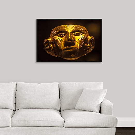 Amazon.com: Colombia, Bogota, Pre-Columbian Gold mask at ...