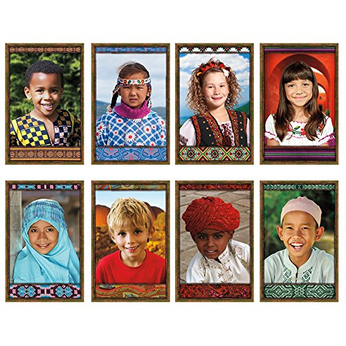 Multicultural Poster - NORTH STAR TEACHER RESOURCE All Kinds of Kids International Bulletin Board Set