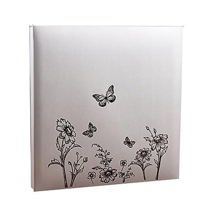 FOOHAO- Álbum de Diy Hand-paste (mariposas, patrón de flores), 20 ...