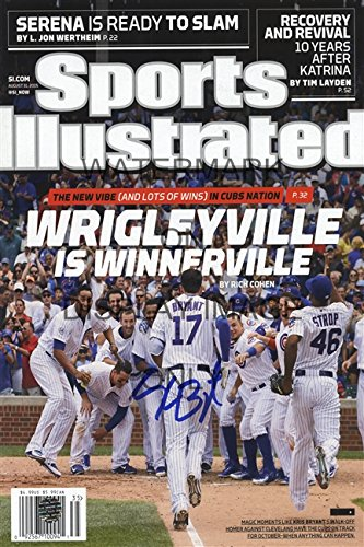 Kris Bryant Sports Illustrated Autograph Replica Poster - World Champs!