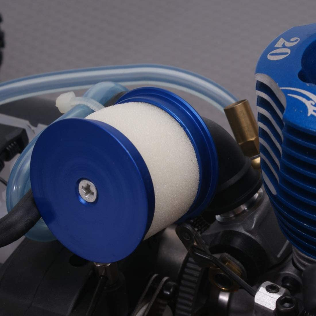 deguojilvxingshe Metal Head Air Cleaner Air Filter Compatible with Toyan Engine for 1:10 Gas Powered Model Car