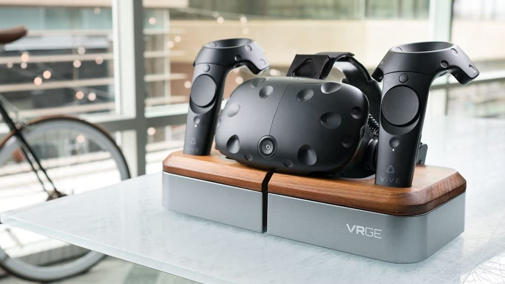 Limited Edition VRGE Virtual Reality Docking Storage System Charge Storage and Display Stand for HTC Vive
