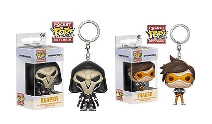 Tracer & Reaper - Juego de 2 llaveros, diseño de Overwatch ...