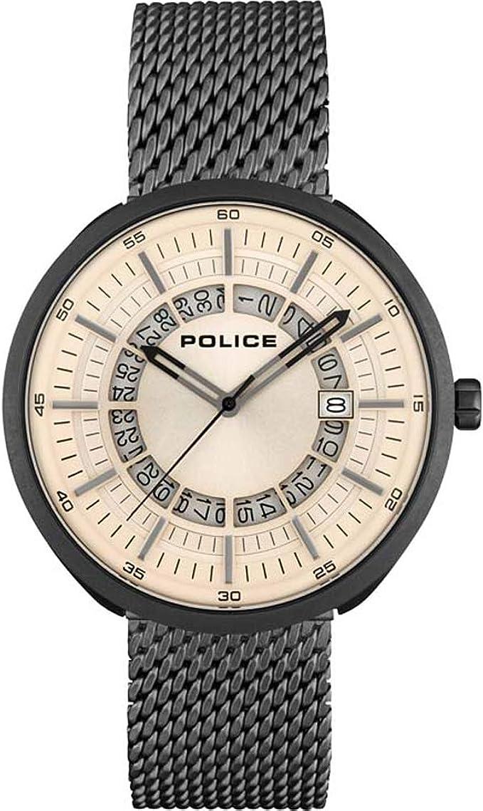 Orologio police da polso al quarzo da uomo, dalian, grigio – pl.15531jsu/79 mm PL.15531JSU/79MM