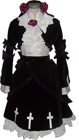Amazon.com: cosnew Anime Gokou Ruri vestido trajes uniforme ...