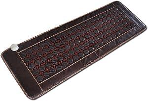 "Far-Infrared Heat Therapy Healing Jade Mat/Pad/Mattress(""19x 59"") Brown"